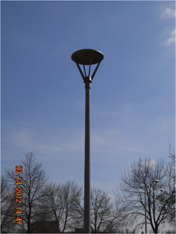 Pedestrian Led Light Poles Facilities Management