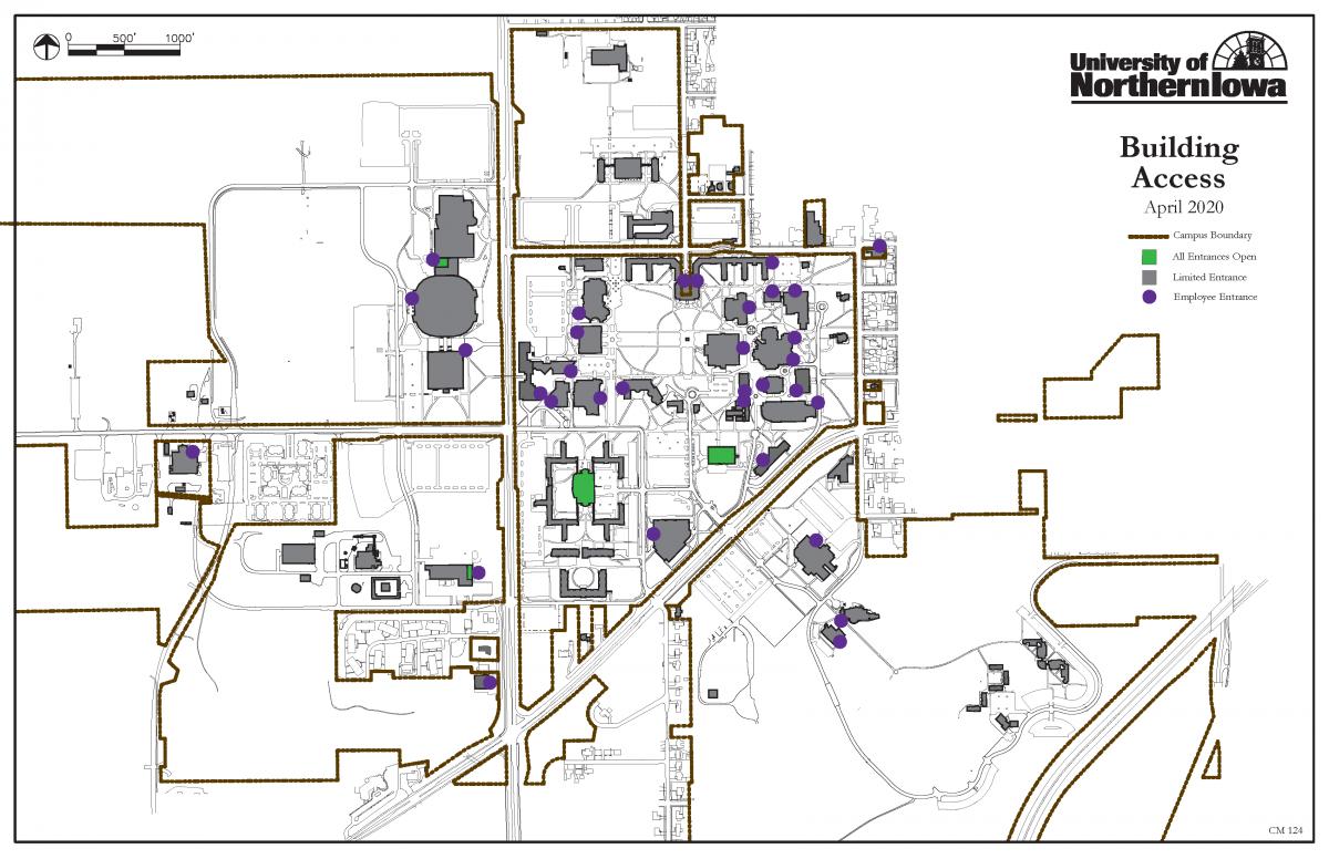 Campus Access Map